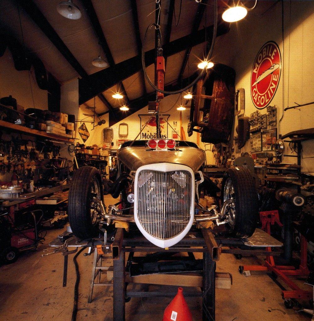 Garage Shop: Hot Rod Garage - Peter Vincent