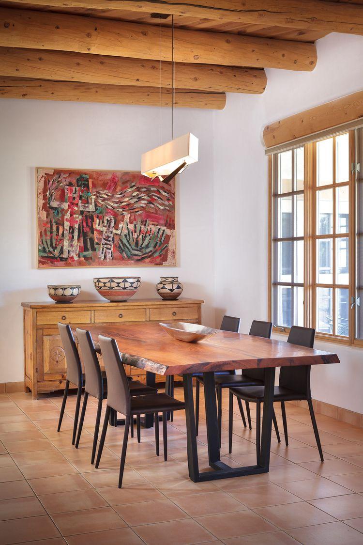 Taos Style Interior Designer Southwest Art Santa Fe New Mexico