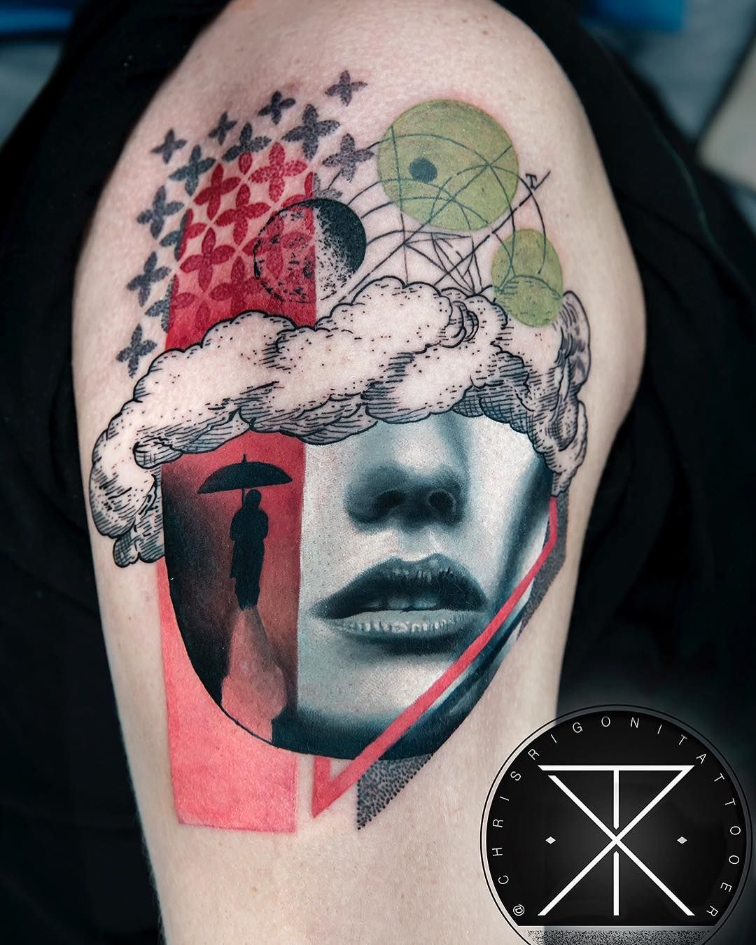 Tattoo by Chris Rigoni Tattooer (chrisrigonitattooer) on
