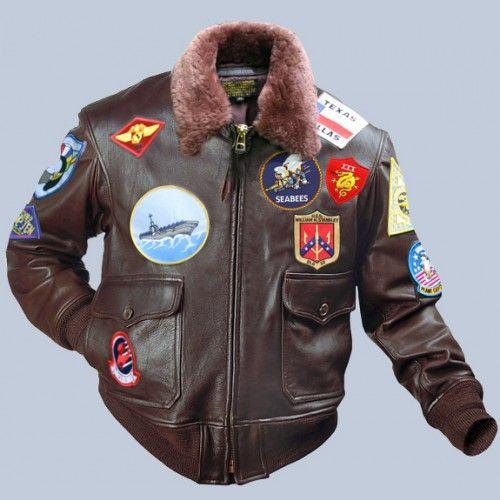 chaqueta tipo piloto cafe  710a17be95e5