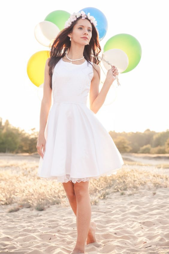 Selbstgenähtes Brautkleid   50er, Schnittmuster und Nähen