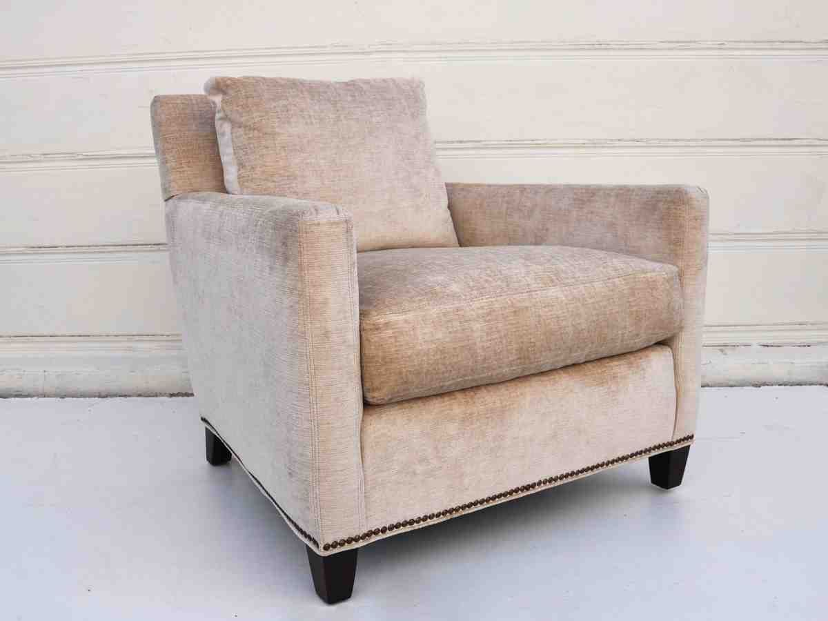 Cream Club Chair