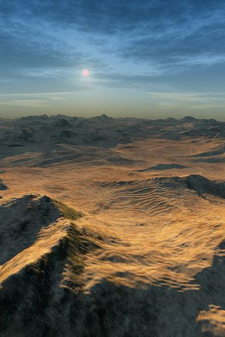 Lifeless planets may have their beauty, but can get monotonous.