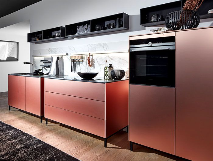 Tendencia en cocinas para el 2018 2019 decoraci n de for Cocinas modernas espacios pequenos