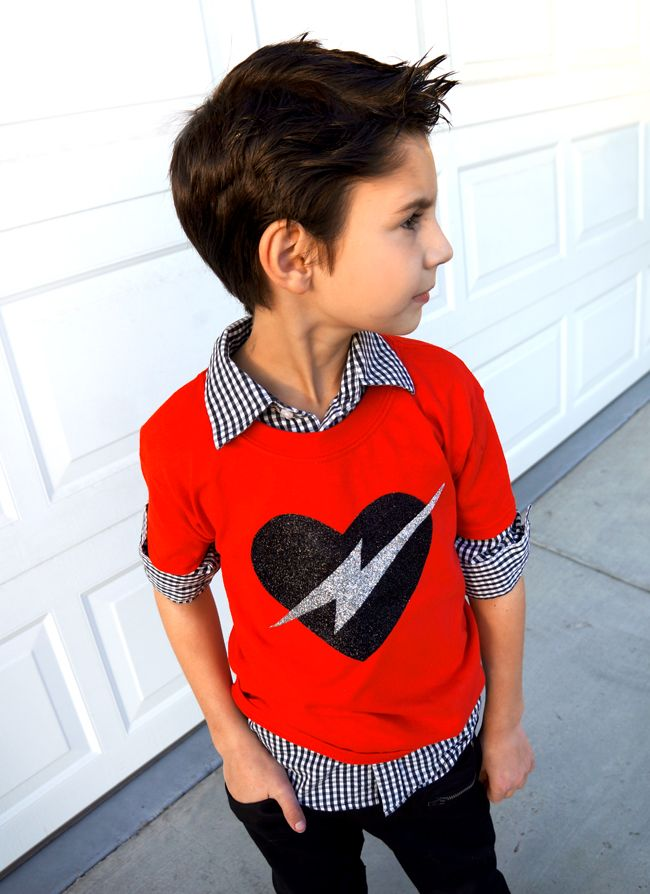 Diy Valentine Shirt Tutorial Diy Reuse Pinterest Valentines