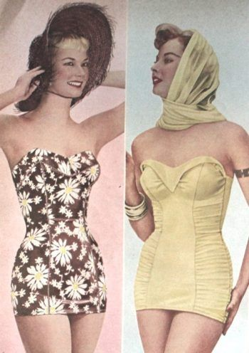 901811c5ddc14 1950s Bathing Suits, Swimsuits History | Fifties | Fashion outfits ...