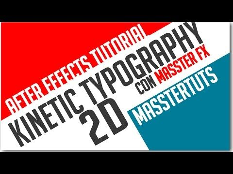 after effects tutorial kinetic typography 2d youtube adobe
