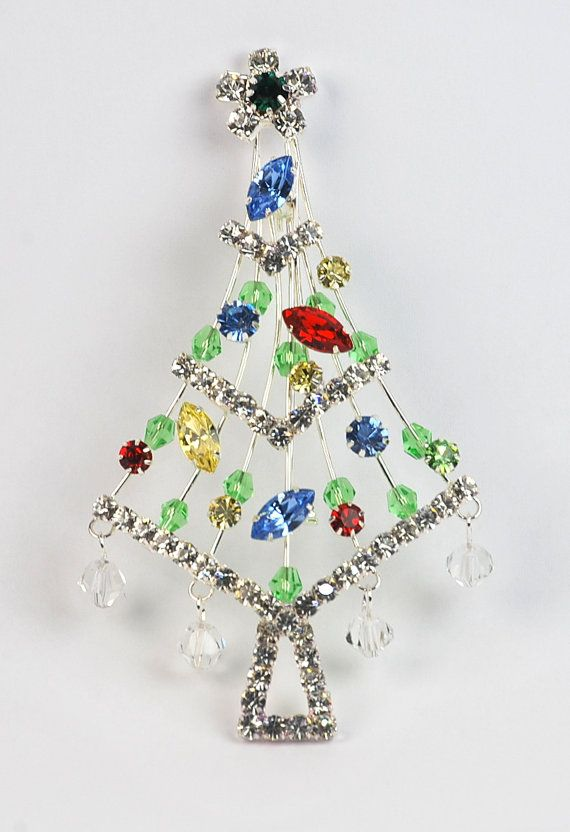 Christmas Tree Crystal Lights with Star topper by GSZCorporation