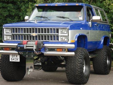 Chevrolet Blazer K5 Chevy K5 502 V8 Welcome To 4playjeep Spares Chevrolet Blazer Chevy Trucks Lifted Chevy Trucks