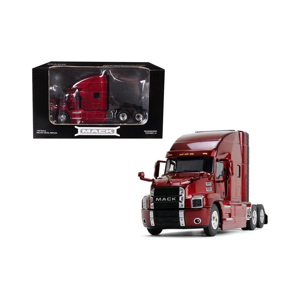 Mack Anthem Sleeper Cab Lacquer Red 1/50 Diecast Model by First Gear