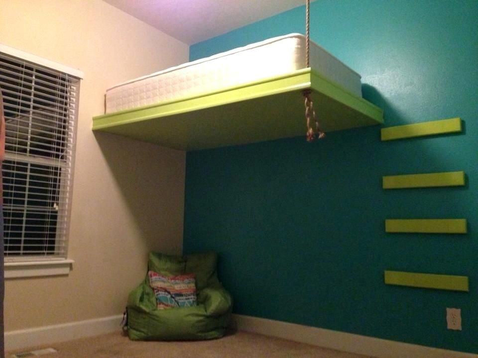 Suspended Loft Bed Suspended Bed Suspended Loft Beds For Adults