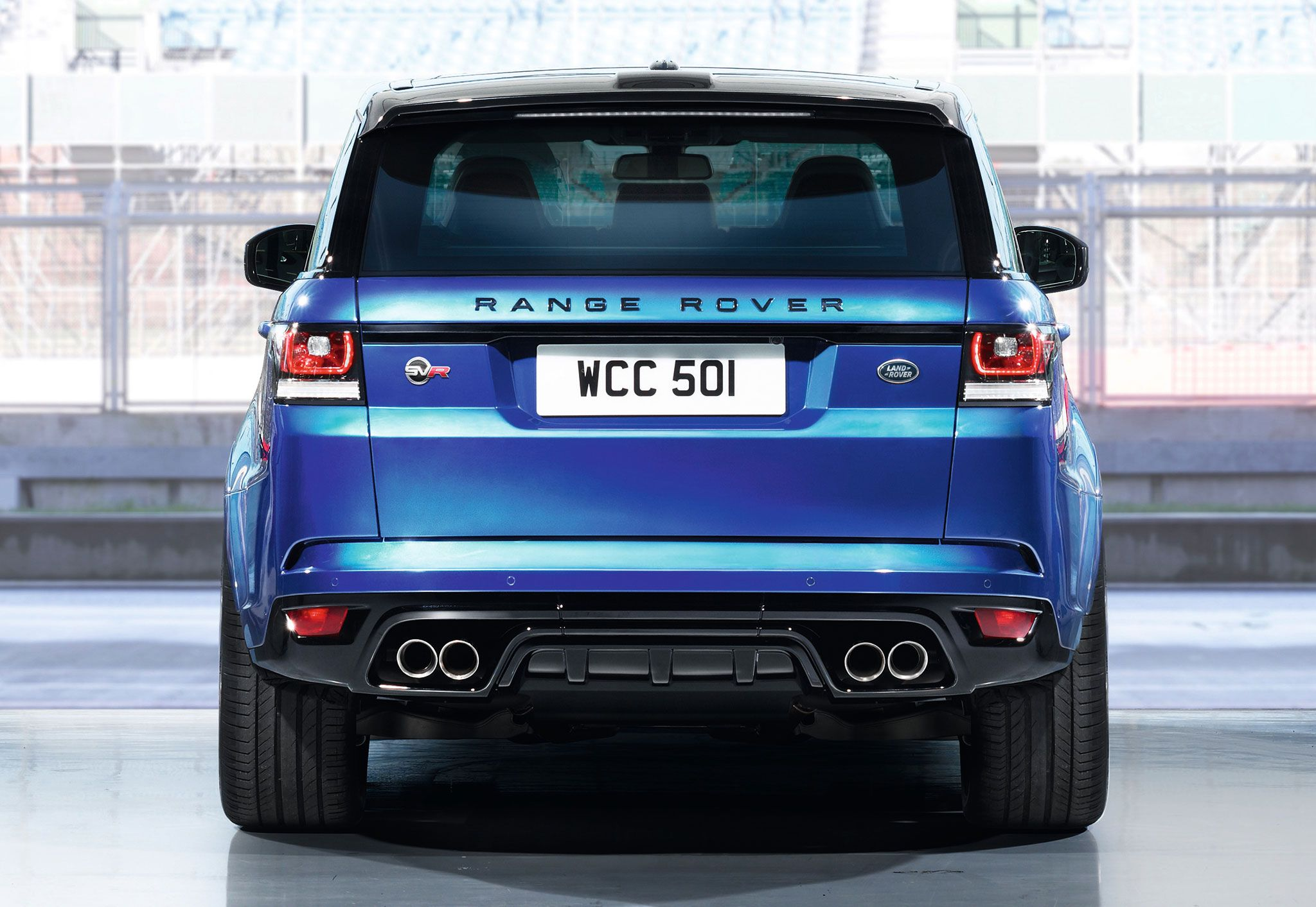 Range rover svr back to story range rover sport svr the fastest land