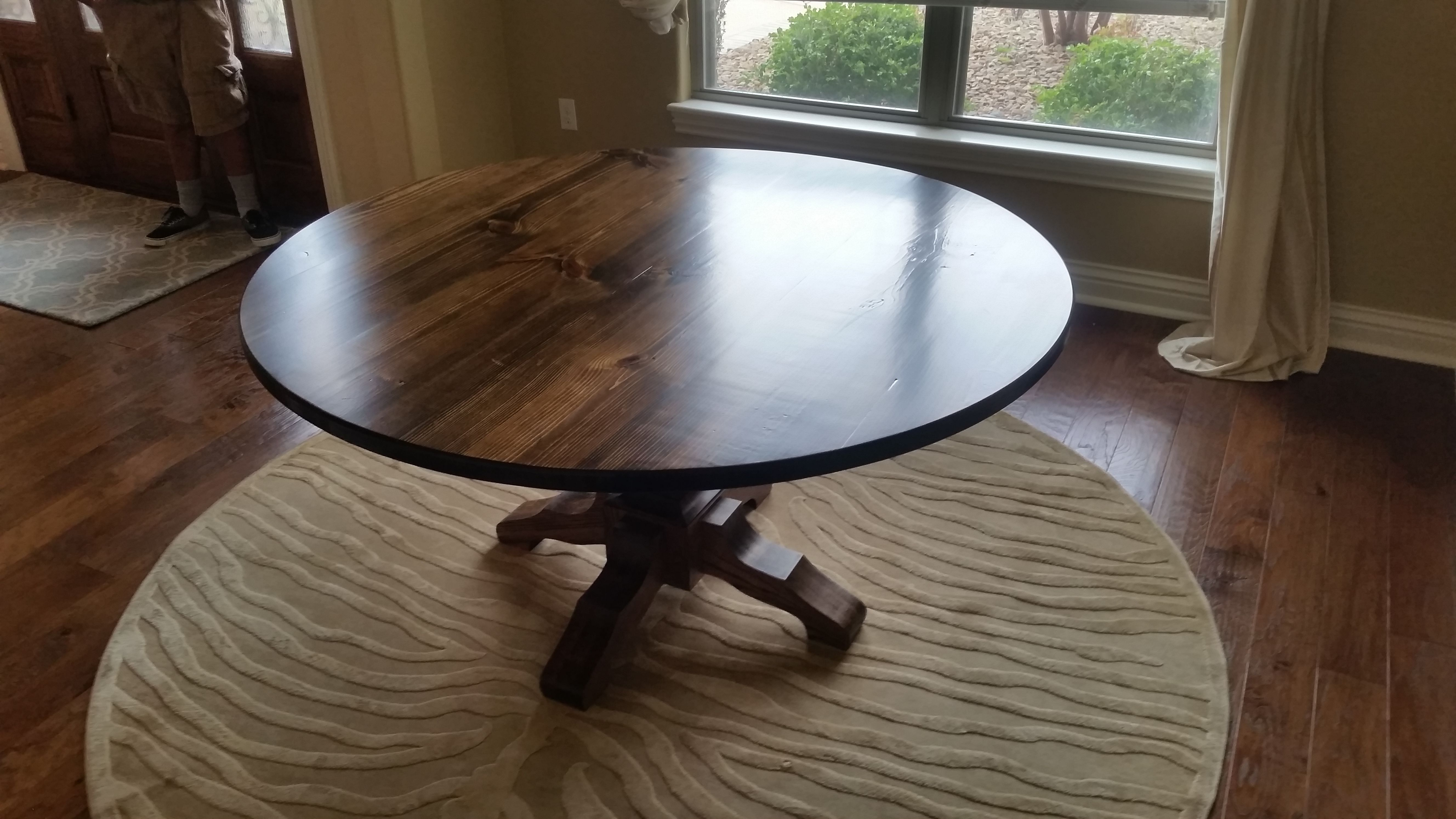 Round Pedestal Table Round Dining Room Table Round Kitchen