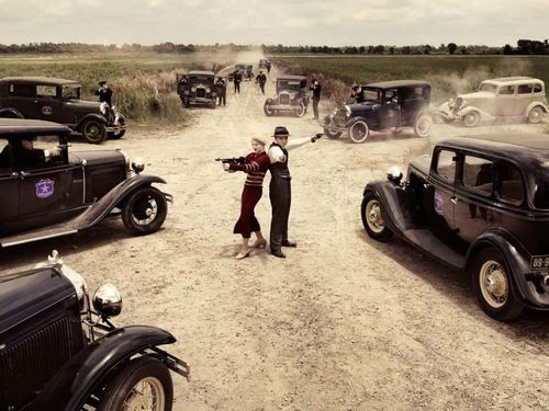 Bonnie and Clyde are surrounded! This was one of... | Ask me what happens behind-the-scenes!