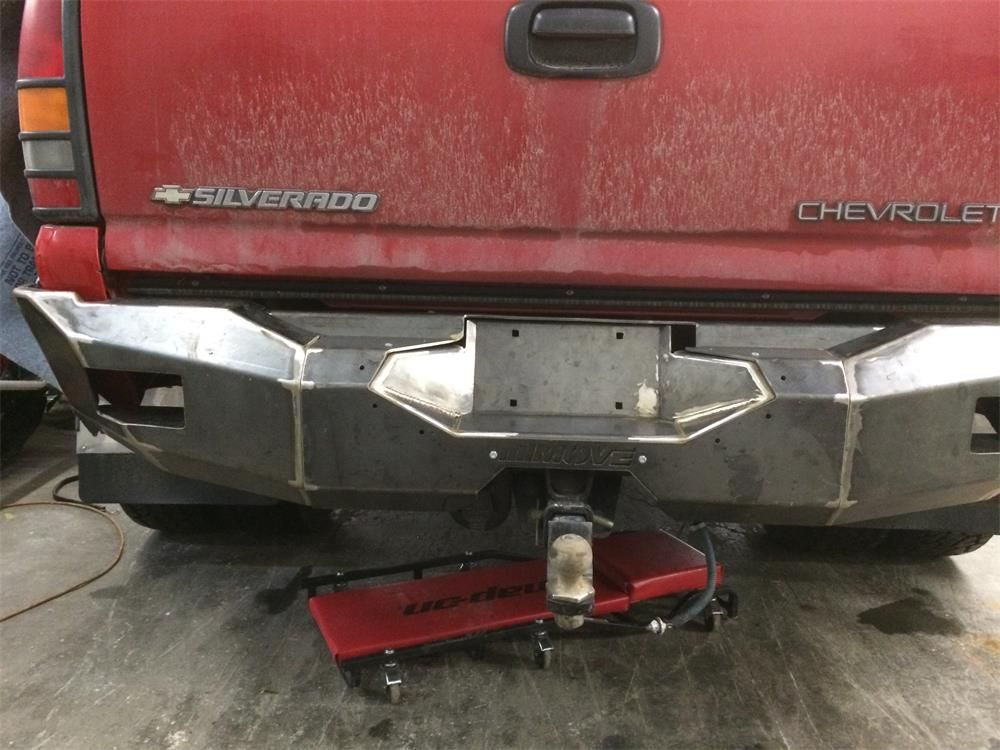 Move Bumper On A Chevy Movebumpers Com Truck Bumpers Custom