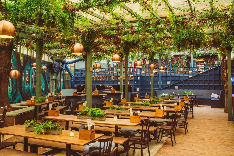 The Best Winter Terraces In London Beer Garden Terrace Garden