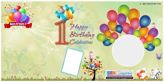 Birthday Creation Vector Image Template Free Happy Birthday