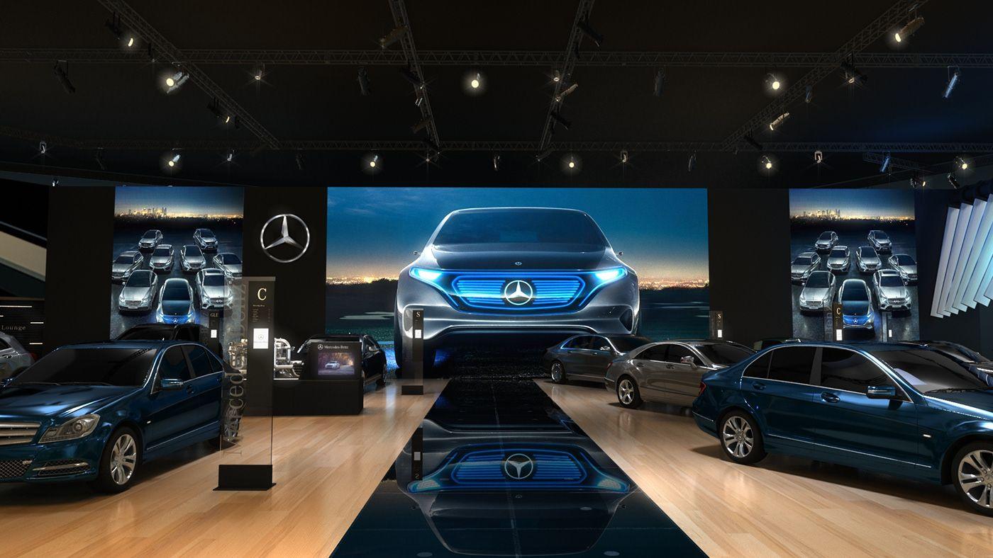 MercedesBenz Showroom 'Auto Kaqandolli' by ArdiCC on