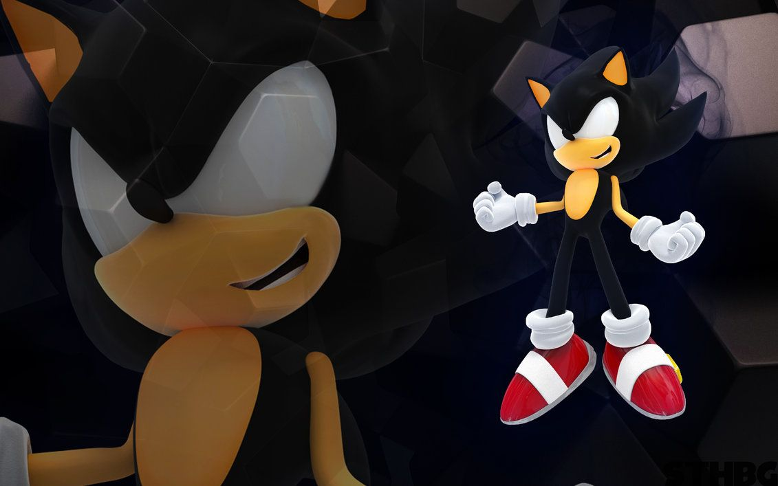 Dark Sonic The Hedgehog Wallpaper