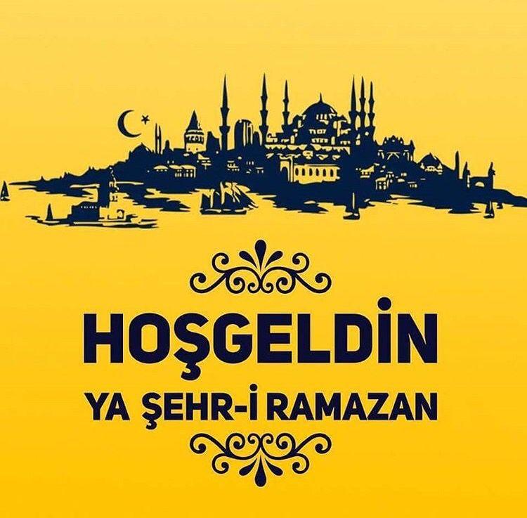 Hoşgeldin Ya Şehr-i Ramazan.. Ramazan ayımız mubarek olsun.. www.takiperest.com #ramazan #onbirayınsultanı