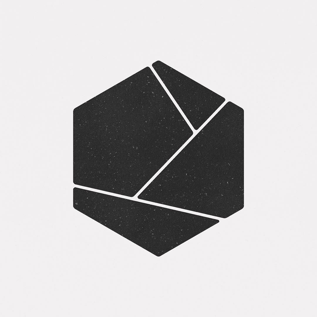 A new geometric design every day dailyminimal minimal for Minimal art logo