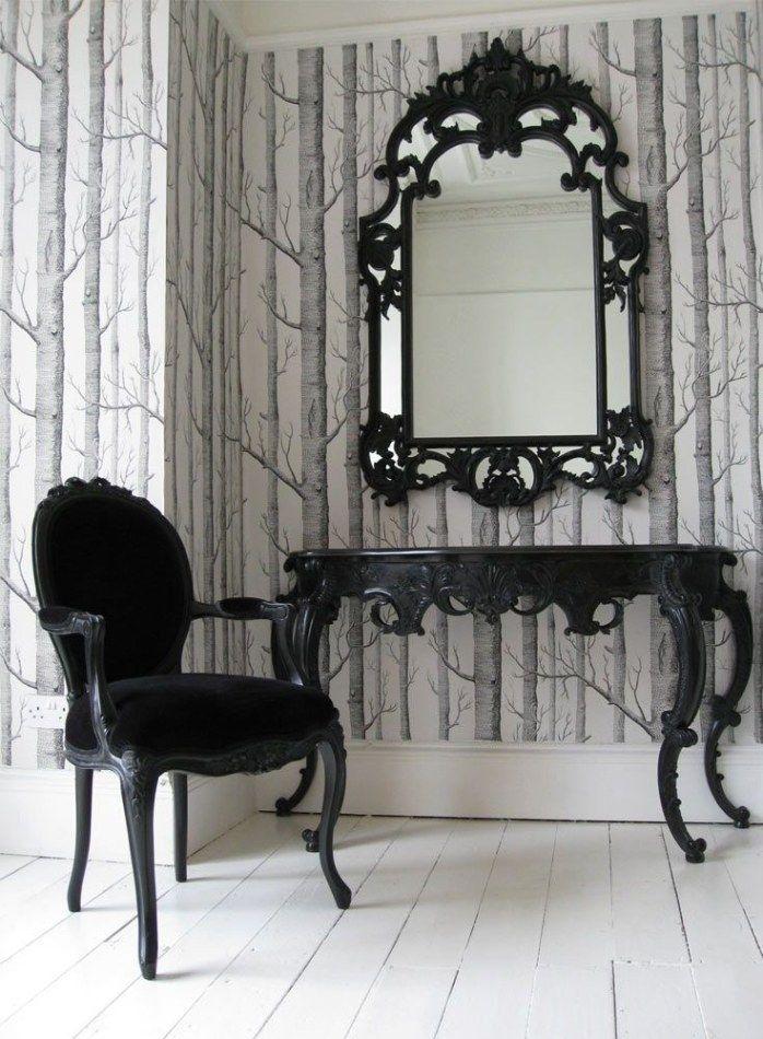 Bedroom Set | Gothic mirror, Mirrored bedroom furniture ...