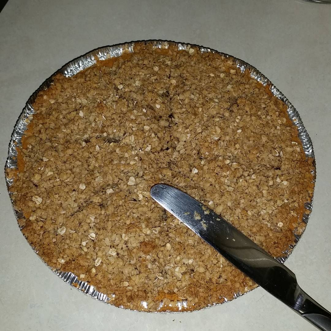 Ummm #apple #crisp #pie  I made it but I am not sure what to call it