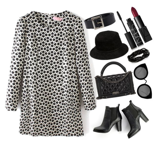 """""""Shifting"""" by foreverfashionfever101 ❤ liked on Polyvore featuring SWEET MANGO, Chanel, Quay, Alexander Wang, NARS Cosmetics and Dolce&Gabbana"""