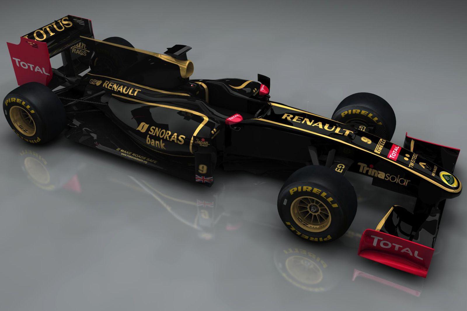 F1 Wallpaper Lotus