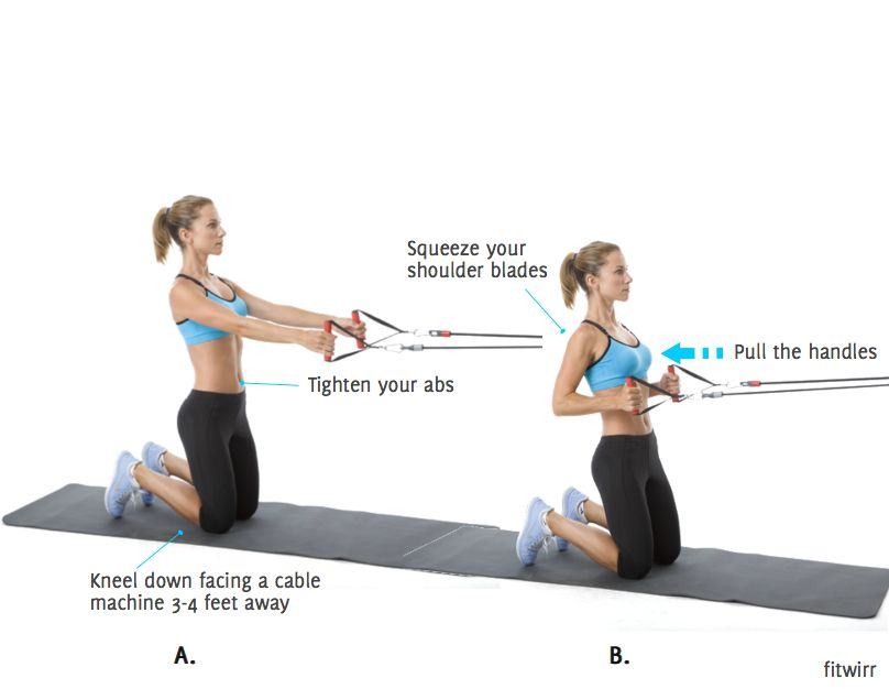 cable machine exercises for back