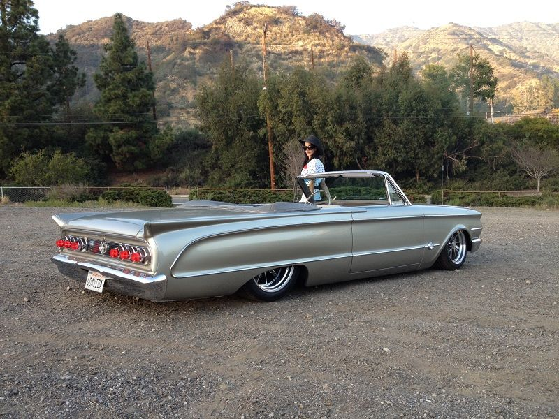 Mercury Comet 1963 S22 Convertible Muscle Cars