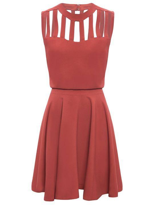 Divino não ?   Vestido Tiny  Marrom  ZOOM  http://imaginariodamulher.com.br/look/?go=2g42cn8