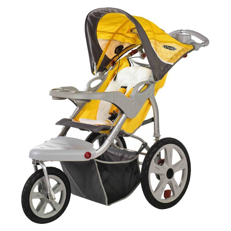 InSTEP Grand Safari Swivel Single Jogging Stroller - 11-AR183