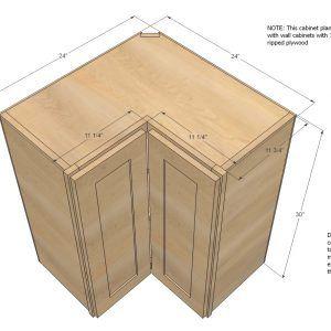 Standard Kitchen Corner Base Cabinet Sizes | Corner ...