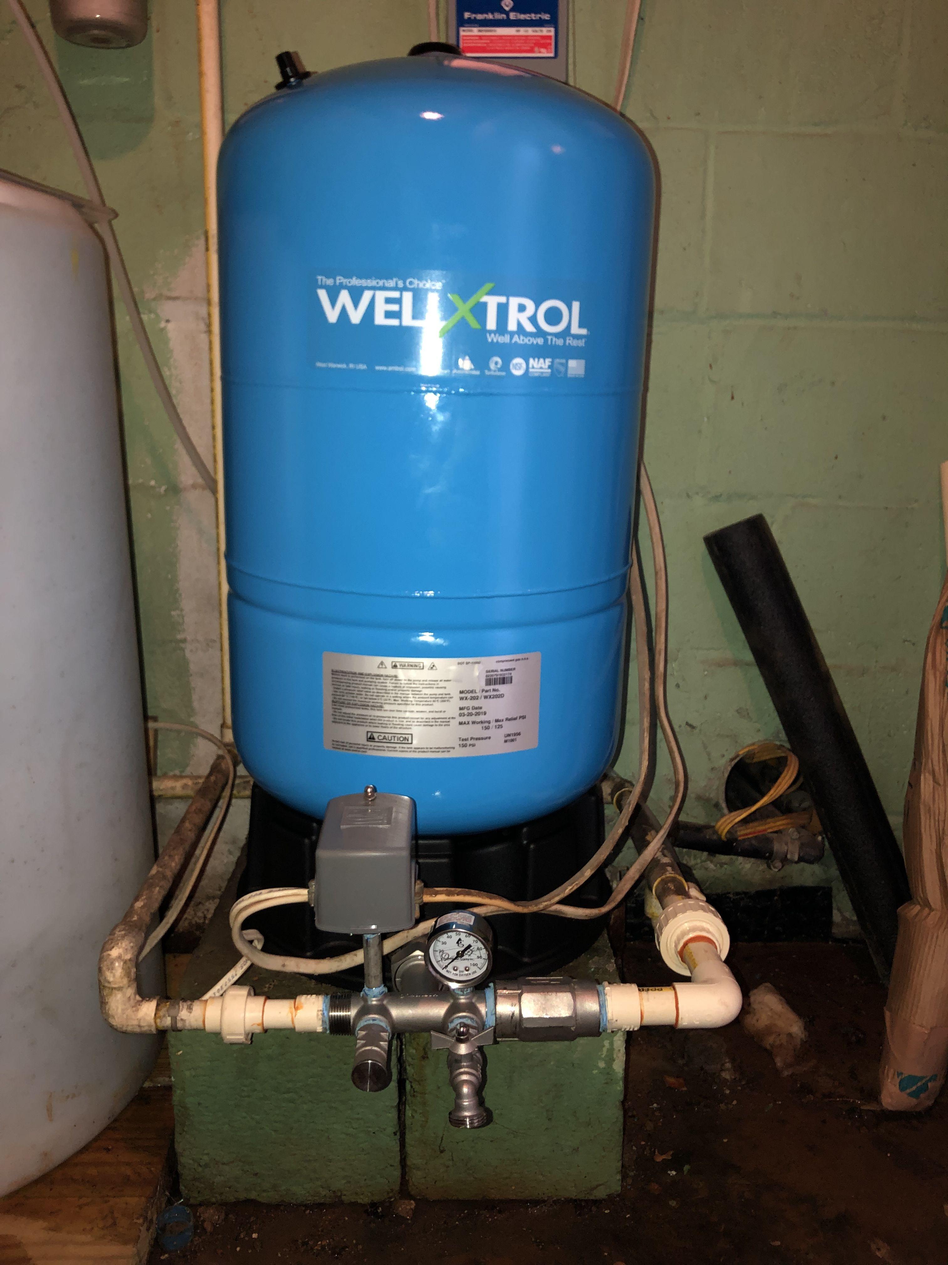 New Pressure Tank Water Treatment Water Quality Pressure Tanks