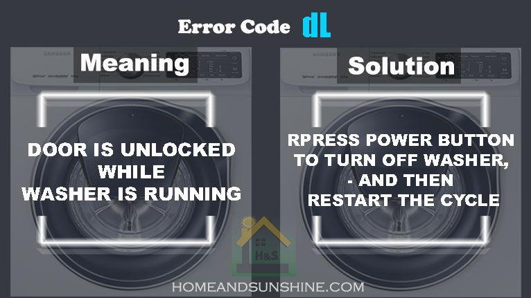 Pin by mariya m on samsung washing machine error code in