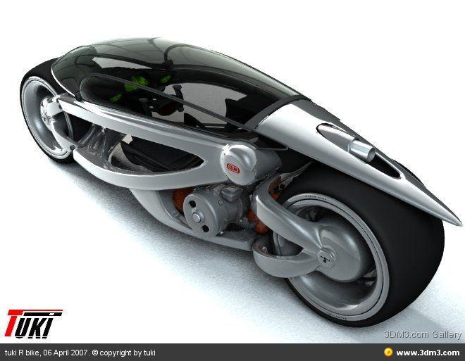 Motorcycle Concept Designed By Tuki Konceptualnye Motocikly