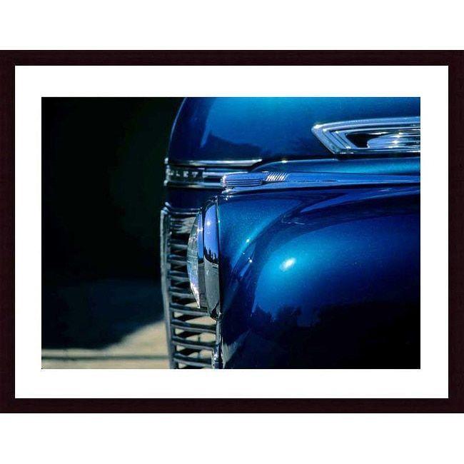 John K. Nakata 'Blue Hot Rod' Framed Art Print