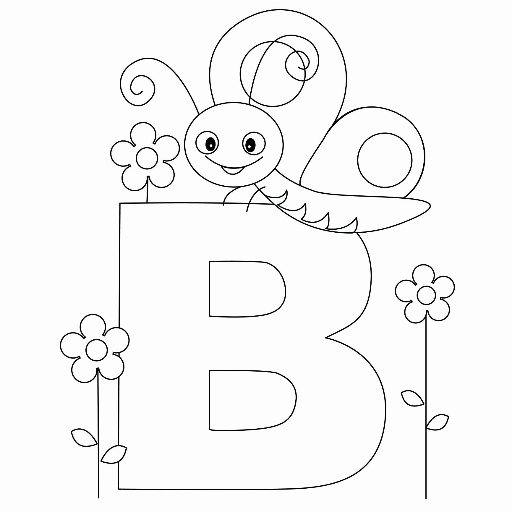 Printable Letter A Coloring Pages Lovely Letters Coloring Pages Printable Findpage In 2020 Letter B Coloring Pages Bug Coloring Pages Kindergarten Coloring Pages