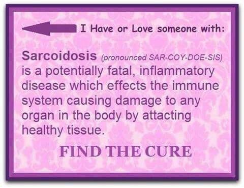 #sarcoidosisawareness