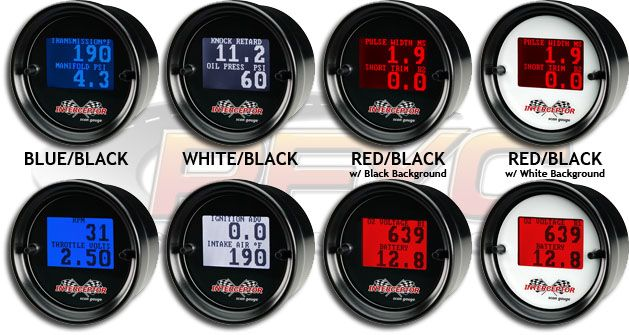 Which Color Display Is Easiest To Read On Aeroforce Interceptor Gauges Google Search Black And Red Black Backgrounds Color