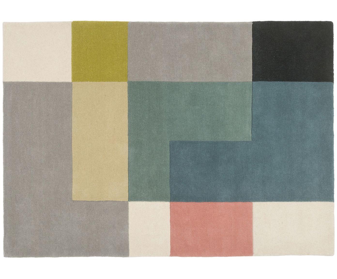 Gehen Sie Mit Dem Handgetufteten Woll Teppich Tetris Mit Mehrfarbigen Tetris Muster Wie Auf Wolken Entdecken Si Teppich Teppich Geometrisch Teppich Wohnzimmer