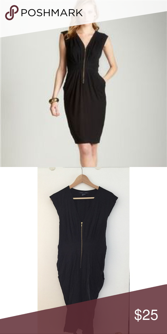 French Connection Black Dress With Pockets My Posh Picks