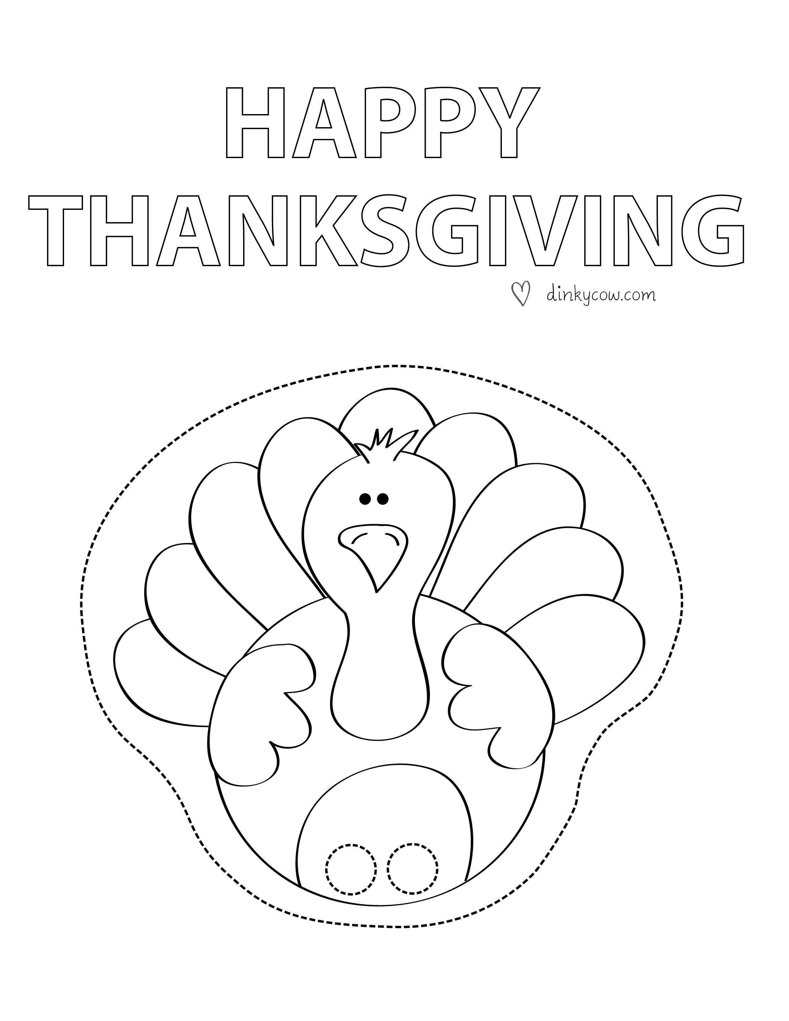 26+ Thanksgiving turkey craft printable ideas