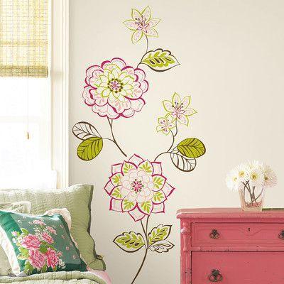 Wallpops Wallpops Kits Sheets Des Fleurs Wall Decal Dorm