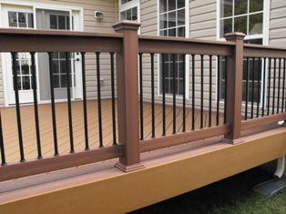 Trex Fascia And Trex Rail Deck Ideas In 2019 Wood Deck