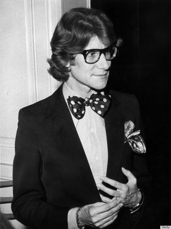 41de54984fb Remember How Dapper Yves Saint Laurent Was? | style icons | Yves ...