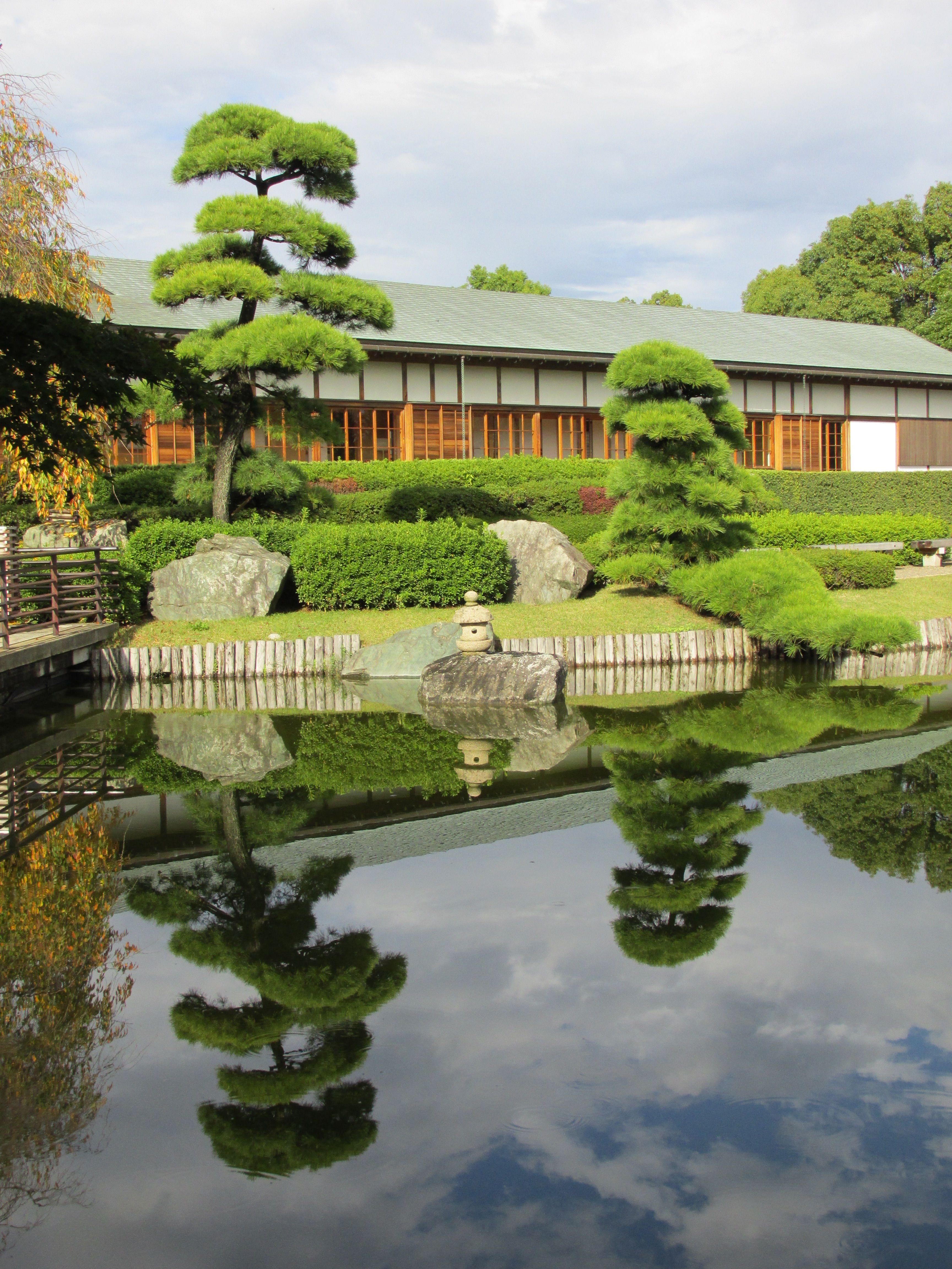 A Japanese Garden (Hanadaen) In Koshigaia, Saitama Inside This Building