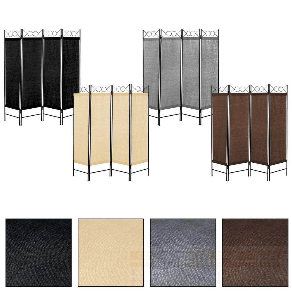 Paravent 4teilig Raumteiler Trennwand Spanische Wand