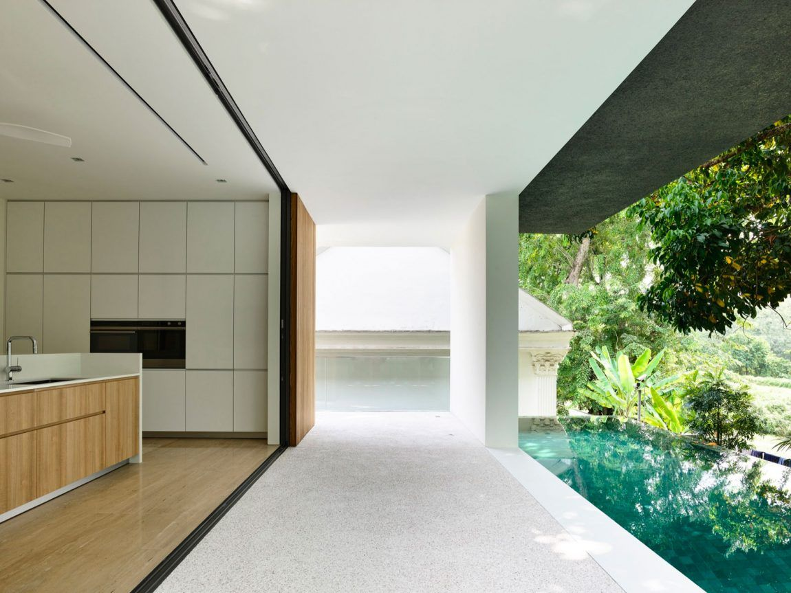 ONG&ONG Pte Ltd Designs a Contemporary Private Residence in Singapore